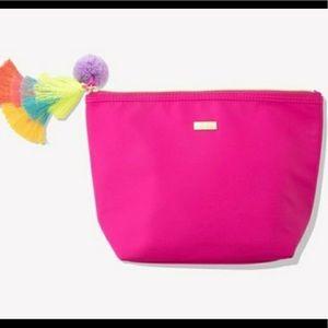 tarte Pink Tassle bag